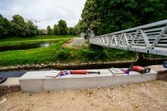 Aluminiumbrücke Rastatt