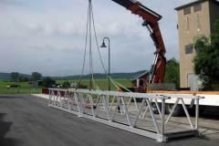 Behelfsbrücke Aluminium