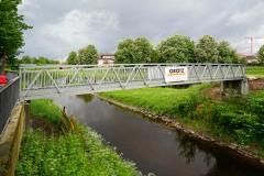 Aluminiumbrücke in Rastatt